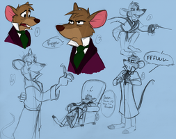Basil Sketches by Poe-Raven