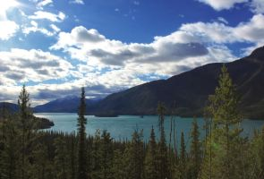 Muncho Lake by DTherien