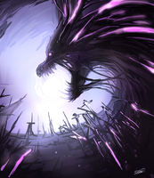 [Doodle] Moon Eater by NoUGrad