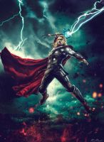 Avengers : Age of Ultron - Thor by HZ-Designs