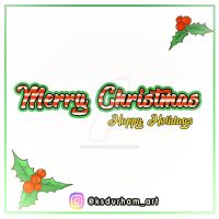 Merry Christmas and Happy Holidays 2017
