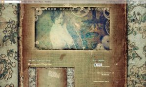 Steampunk Blog Design by asunder