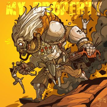Immortan Joe by jouste