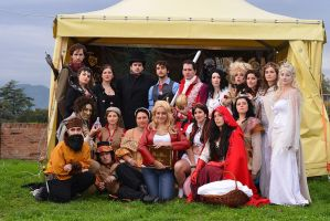 Once Upon a Time cosplay group by aenigmatica