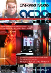 New brochure for ACDC (Admira Concept Design Cours by ChekydotStudio