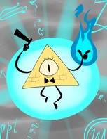 Bill Cipher by Metal-Kitty
