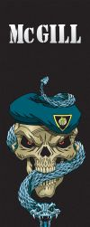 Skull and Snake by mattlorentz