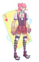 King Of Hearts by HoofFingers