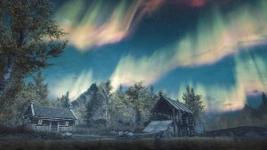 By The Lake Walden - Skyrim by WatchTheSkies45