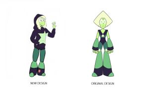 Peridot's Redemption Extras - Peridot's New Form by ArbitraryLabby