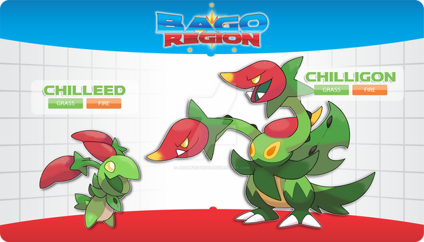 ??? - Chili Fakemon by AdamFegarido