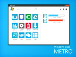 Windows Metro - Main Explorer by ukiyodistrict