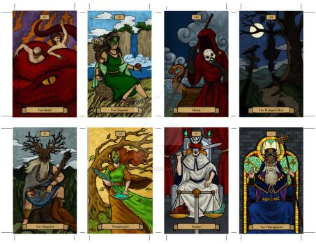 Tarot Cards 1 by PeterEffect
