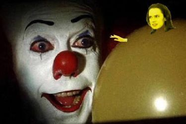 You want a balloon Georgie? by DarthBooty1995