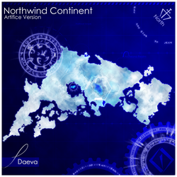 Day 5 - Map [Northwind] by daeVArt