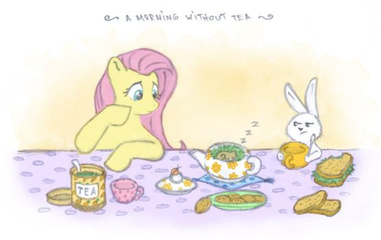 a morning without tea by onkelscrut