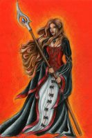 Mage - Flame by Mistresselysia