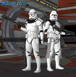 Clone Troopers by WOLFBLADE111