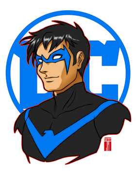 Nightwing by artofJEPROX
