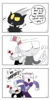 The question-Snake eyes comic by FANSHINE-ZERO