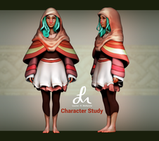 Zbrush Character Study by revois
