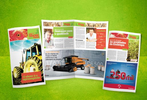 Show Rural Themed Newspaper by hiharry