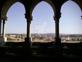 View from Leiria's Castle by Spontanyous
