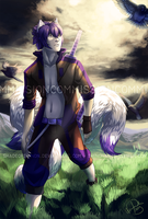 Commission: A Walk in the Fields by ShadeofShinon