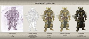 making of guardian by Stachir