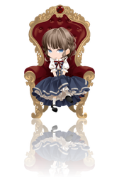 Little Lady Cranky Style ver. Red Reflection by Rosemoji