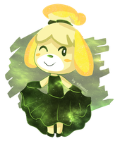 Galaxy Isabelle by ellenent
