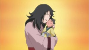 Kurenai Yuhi and her child by TheBoar