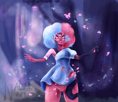 Cotton Candy Garnet - Steven Universe by Nalak-Bel