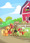 Apples on the farm by mysticalpha