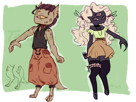 [CLOSED] garblet adoptables by Tonttun