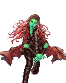 Gamora by Asenath23