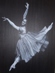 Ballet and Oil 2 by Kevin Heal by artgeza-II