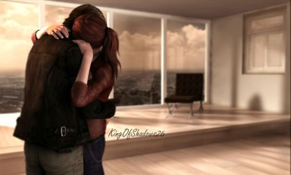 I miss U! ( Leon and Claire) by YegiHCH26