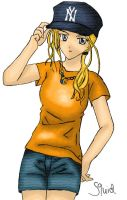 PJatO and HoO: Annabeth Chase by Squidypus