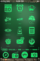 Pip-Boy 3000 theme for iphone and ipod touch by Neg-319