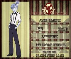 Circus Darkrai: Jack Landon by Bloomins