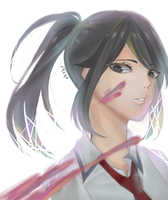 Stress Relief Ayano by rrkkrkrr