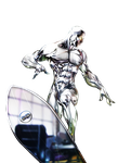 Silver Surfer by 35-Elissandro