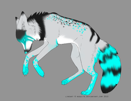 Ice Wolf Adoptable by AdoptionOpition
