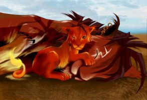Red XIII and Seto by RedXIII-Fan-Club