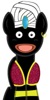 Mr. Popo by GrimmCheater