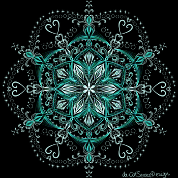 Flower in Lace by CatSpaceDesign