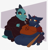 Mae And Bea by BedBendersInc