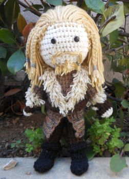 Crochet Fili the Dwarf by Zikaeqs