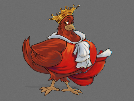 Royal Rooster by NoahBDesign